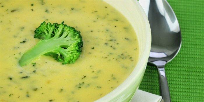 crema de brócoli con zanahoria