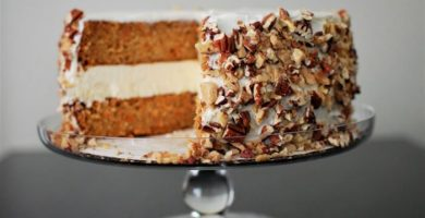 pastel de zanahoria con cheesecake