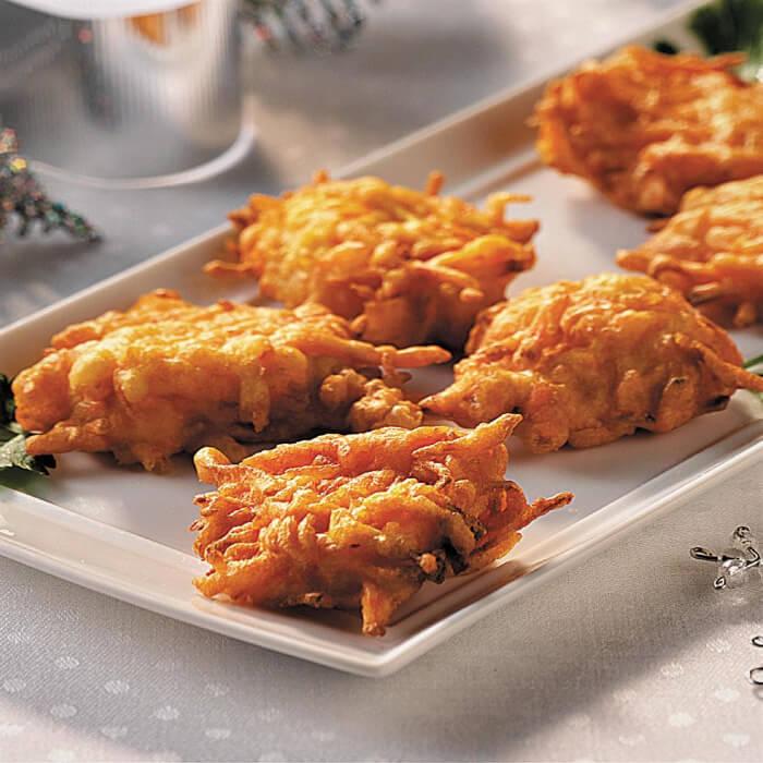 Tortitas de pollo con zanahoria